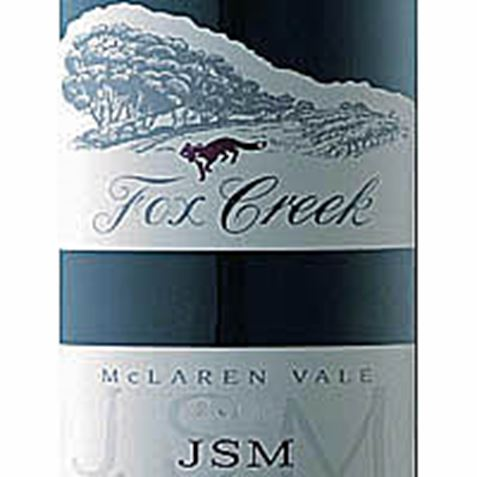 Picture of Fox Creek JSM Shiraz Cabernet 2002 3L
