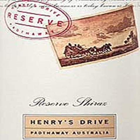 Picture of Henry's Drive Reserve Shiraz 2001 750mL
