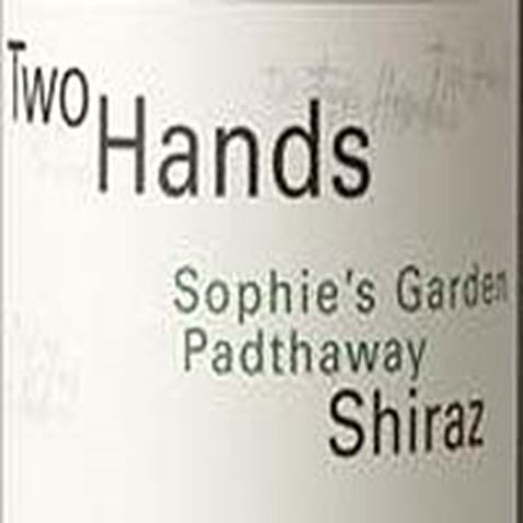 Picture of Two Hands-Sophie's Garden-Shiraz-2003-750mL