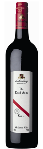 Picture of d'Arenberg-The Dead Arm-Shiraz-2001-750mL