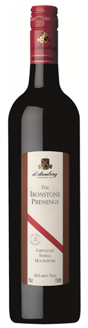 Picture of d'Arenberg-The Ironstone Pressings-Grenache Shiraz Mourvedre-2001-750mL