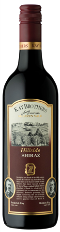 Picture of Kay Brothers Amery-Hillside-Shiraz-2004-750mL