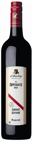 Picture of d'Arenberg The Coppermine Road Cabernet Sauvignon 2002 1.5L
