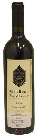 Picture of Viking Wines-Odins Honour-Shiraz Grenache-2002-750mL