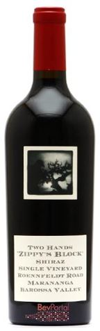 Picture of Two Hands-Zippy's Block-Shiraz-2004-1.5L