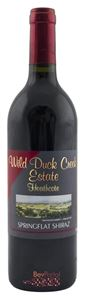 Picture of Wild Duck Creek Estate-Springflat-Shiraz-2003-750mL