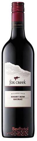 Picture of Fox Creek Short Row Shiraz 2001 1.5L