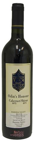 Picture of Viking Wines Odins Honour Cabernet Sauvignon Shiraz 2001 750mL