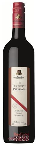 Picture of d'Arenberg-The Ironstone Pressings-Grenache Shiraz Mourvedre-1996-750mL