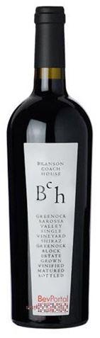 Picture of Branson Coach House-Greenock Block-Shiraz-2002-750mL