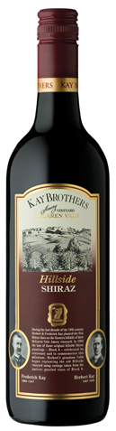 Picture of Kay Brothers Amery Hillside Shiraz 2000 750mL