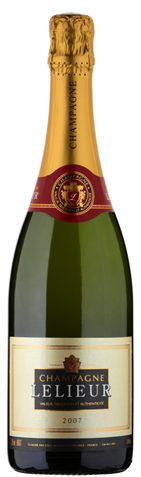 Picture of Champagne Lelieur-Vintage Champagne Brut-Chardonnay Pinot Noir-2007-750mL