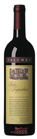 Picture of Yalumba-The Signature-Cabernet Sauvignon Shiraz-1999-750mL