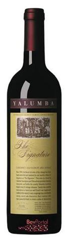 Picture of Yalumba-The Signature-Cabernet Sauvignon Shiraz-1999-750mL