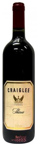 Picture of Craiglee Estate Shiraz 2001 750mL